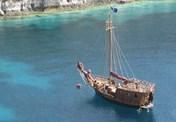 Motor-sailer Santa Maria
