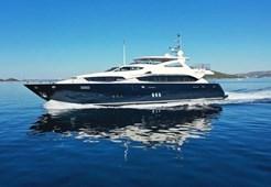Megajahta Sunseeker Yacht 34 M