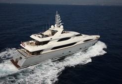 Luxury yachtAncona 130