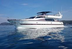 Luxury yachtElegance 76