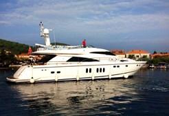 Luxury yachtFairline Squadron 74