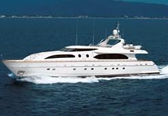 Luxury yachtFalcon 115