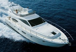 Motorni brodFerretti 550 na prodaju
