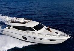 Motorni brodFerretti 592 na prodaju