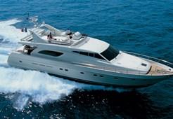Luxury yachtFerretti 720
