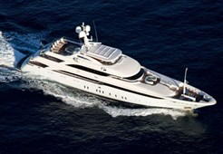 Luxury yachtLamda Nafs 170