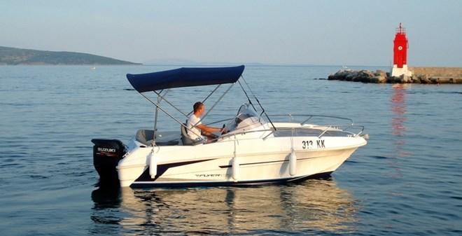 motor Beneteau Flyer 550 Sun Deck
