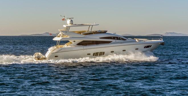 megayachts Sunseeker Yacht 80