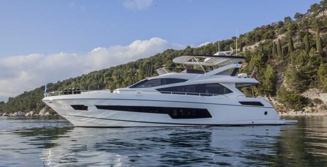 megayachts Sunseeker Yacht 75