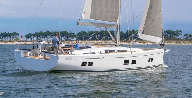 sail Hanse 548 3+1 cabins