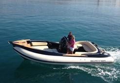 Rib boatScanner 710 Envy black