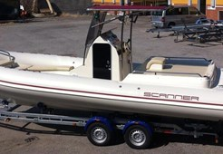 Rib boat Scanner 800 D for sale