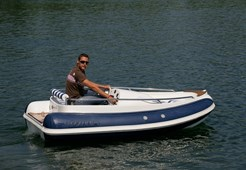 Rib boat Scanner Ino 380 JET for sale