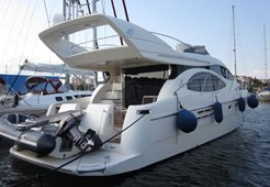 Azimut 46 for charter in Pirovac