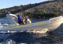 Barracuda 20 for charter in Trogir
