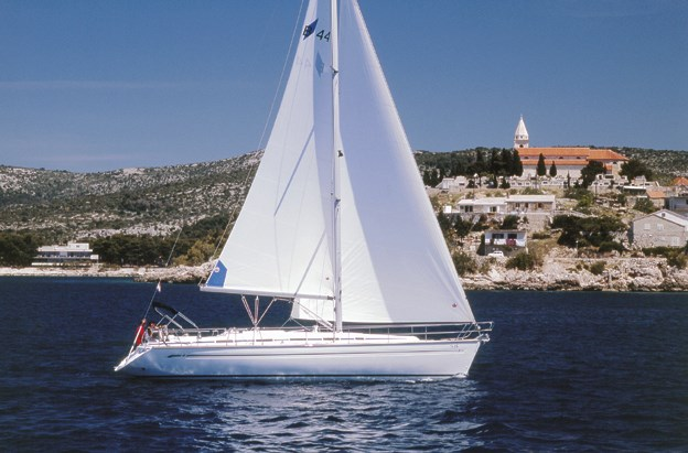 Bavaria 44 for charter in Trogir