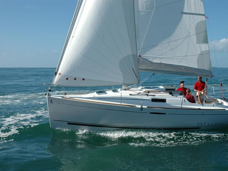Beneteau First 257 for charter in Punat, Krk