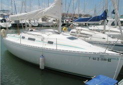 S Beneteau First 265 for charter in Sukosan