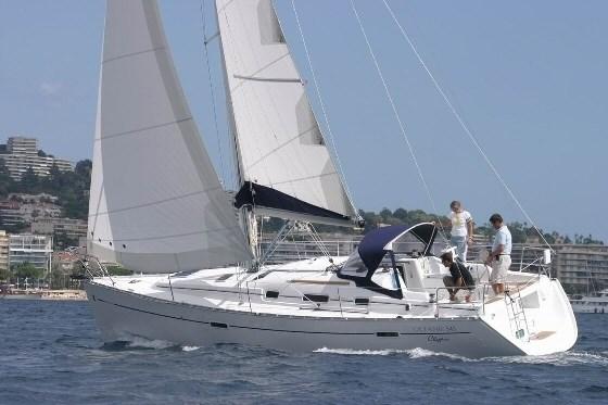 Beneteau Oceanis 343 for charter in Trogir