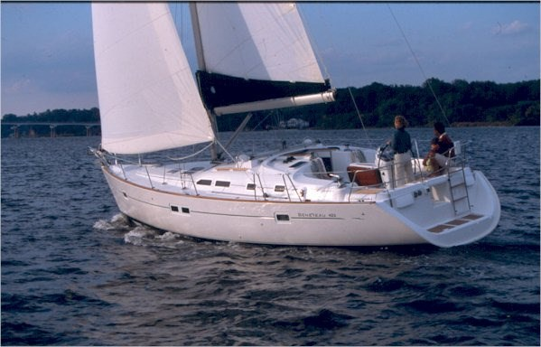 Beneteau Oceanis 423 for charter in Punat, Krk