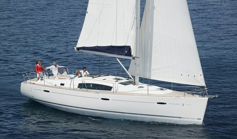 Beneteau Oceanis 43 for charter in Seget Donji