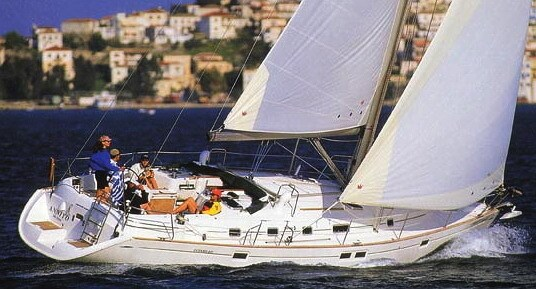 Beneteau Oceanis 461 for charter in Split