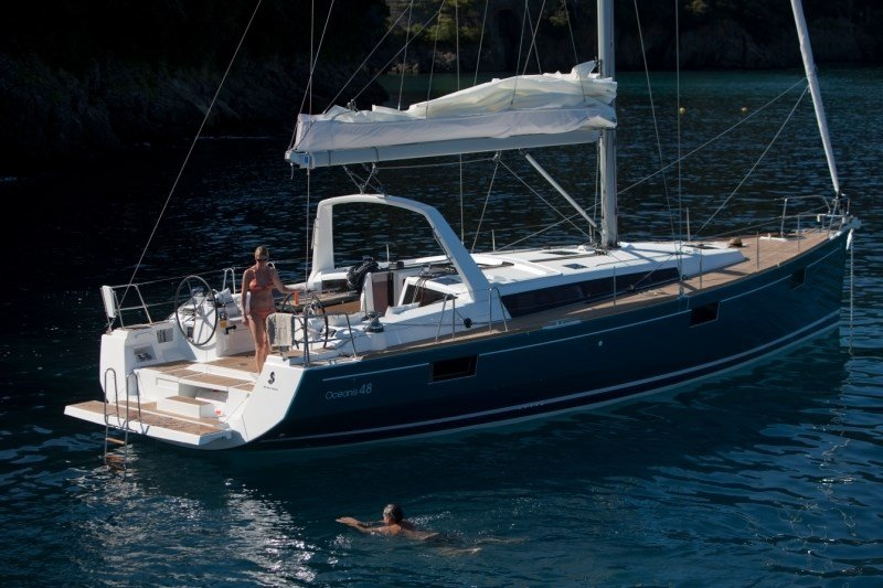 Beneteau Oceanis 48  5 cab for charter in Sukosan