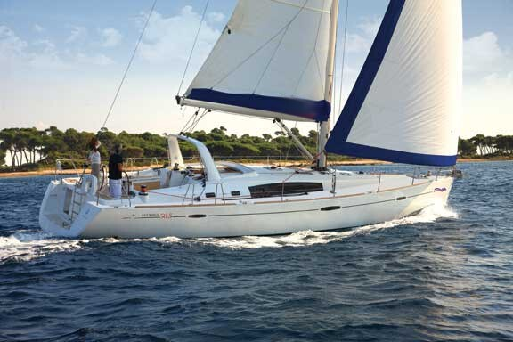 Beneteau Oceanis 50.5 for charter in Kastela, Split