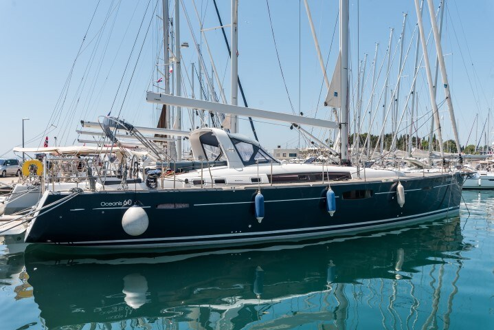 Beneteau Oceanis 60 owner for charter in Split