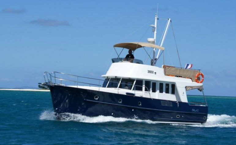 Beneteau Trawler 42 for charter in Sibenik