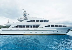 Benetti 115 for charter in Trogir