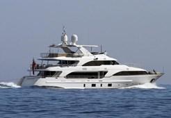 Benetti 121 for charter in Hrvatska
