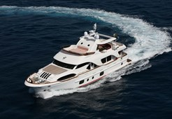 L Benetti 85 for charter in Dubrovnik