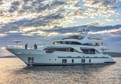 L Benetti Delfino 93 for charter in Split