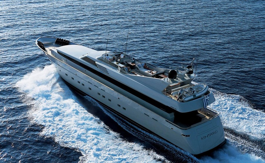 Cantieri di Pisa 125 for charter in Split