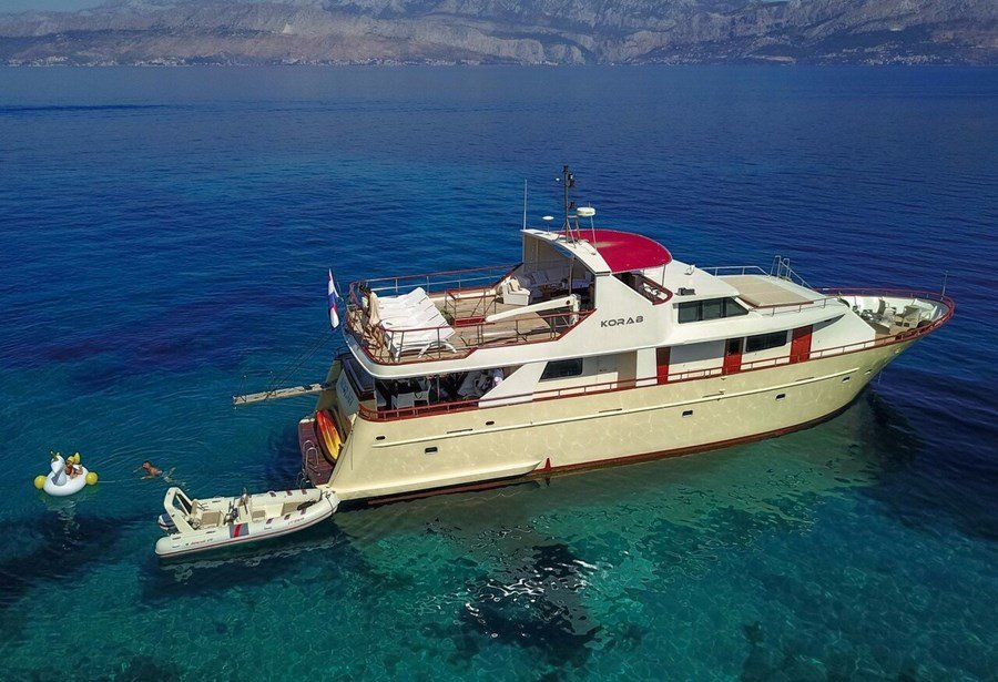 Custom Korab for charter in Split