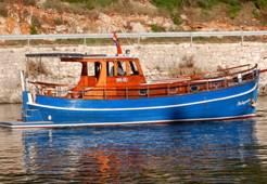 Custom Palagruza for charter in Split