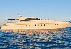 Dalla Pieta 80 for charter in Funtana