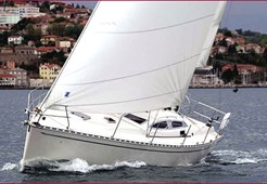 S Delphia 40 for charter in Split