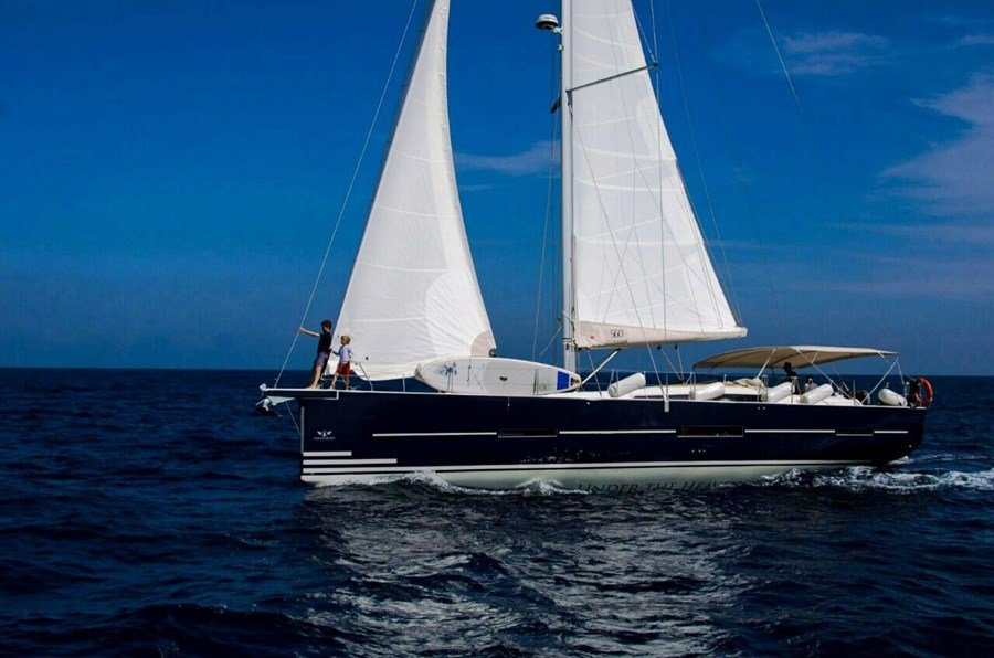 Dufour 560 for charter in Primosten