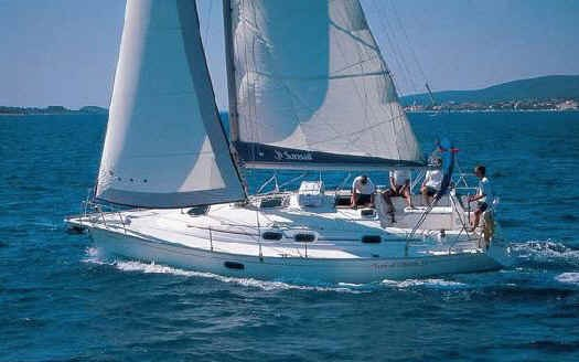 Dufour GibSea 33 for charter in Zadar