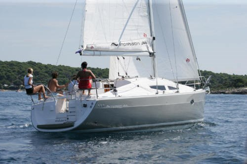 Elan 344 Impression for charter in Kastela, Split