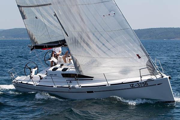 Elan 350 for charter in Punat, Krk
