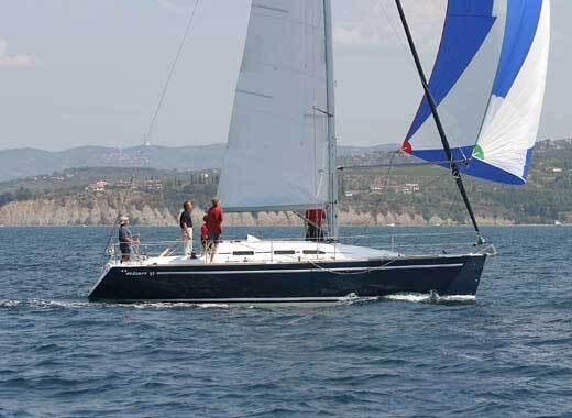 Elan 37 for charter in Sukosan