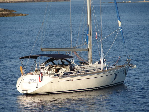 Elan 38 for charter in Vodice