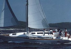Elan 431 for charter in Kastela, Split