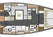 Elan 50 Impression 4 cabins