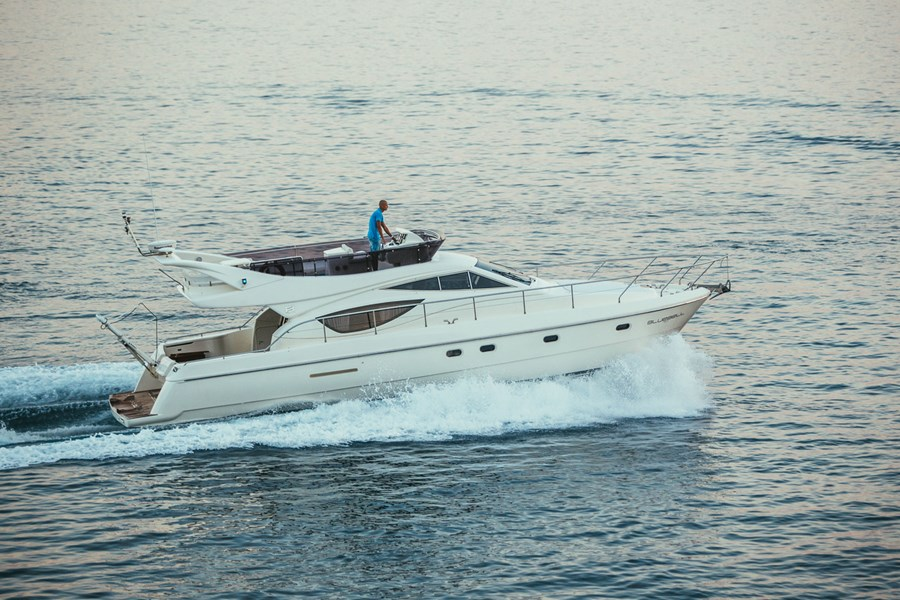 Ferretti 460 Bluebell for charter in Split