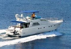 M Ferretti 49 for charter in Primosten