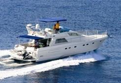 M Ferretti 52/7 for charter in Primosten